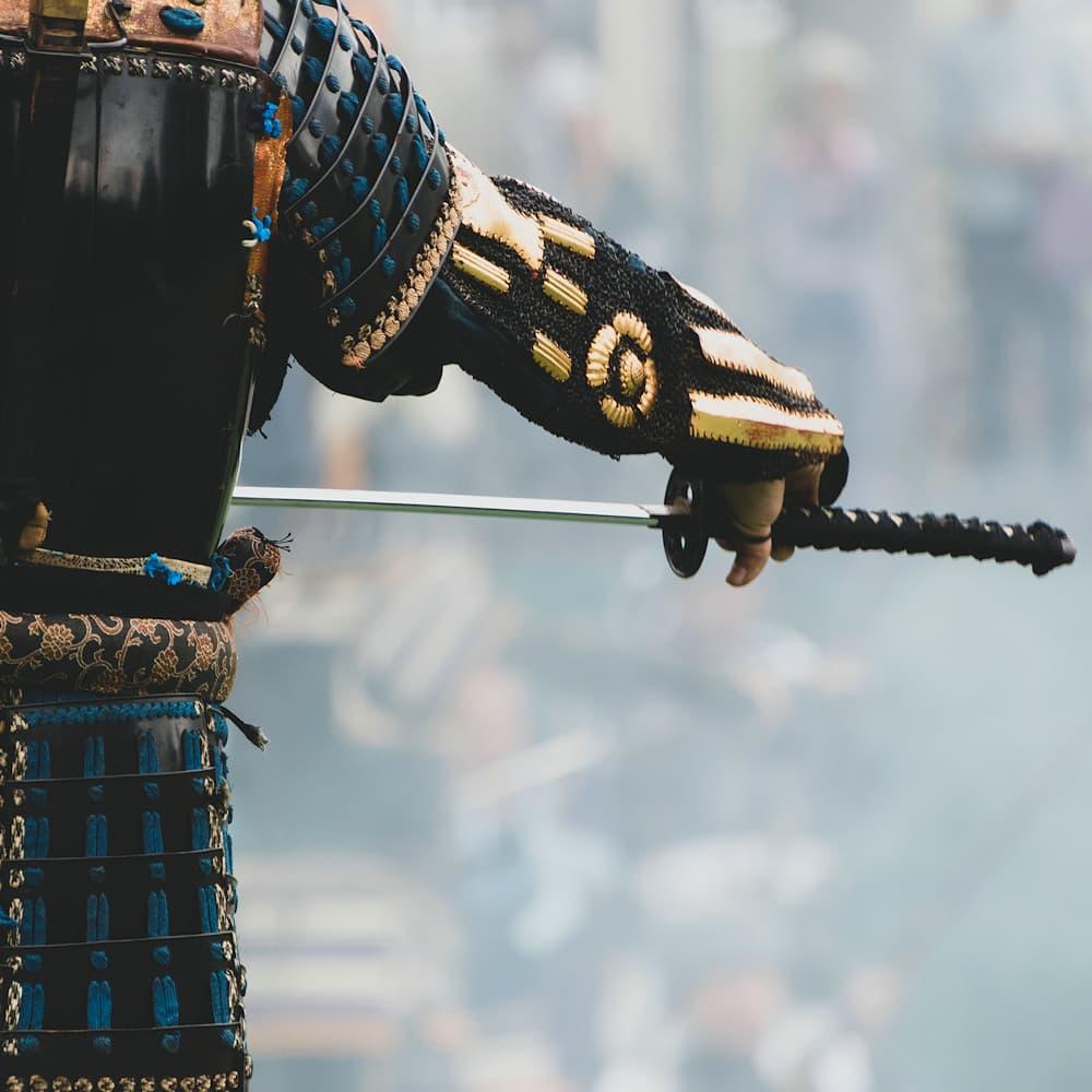 Vérifier la longueur de la soie sans démonter le katana (bien choisir son katana, 2ᵉ partie)